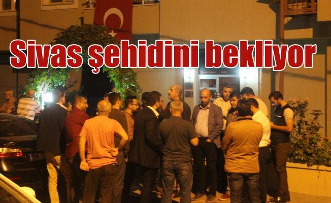 Şehit ateşi Sivas'a düştü: Adnan Saka Sivas'ta toprağa verilecek