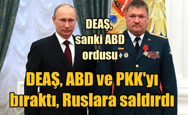 Suriye'de DEAŞ, Rus generali vurdu