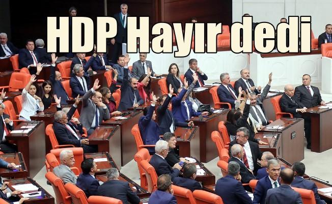TBMM, Mehmetçik için toplandı: HDP HAYIR dedi
