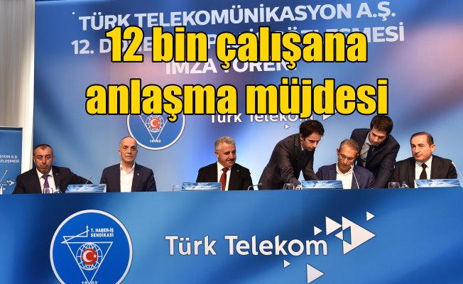 Türk Telekom'un 12 bin Çalışanına Sözleşme Müjdesi