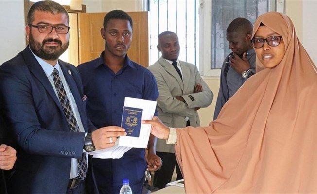 Türkiye Maarif Vakfı'ndan Somalili öğrencilere burs