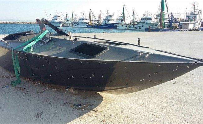 Valilikten Saros'ta bulunan 'insansız su üstü aracı' açıklaması