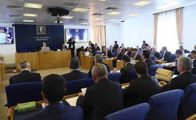 2018 Yılı Bütçesi Plan ve Bütçe Komisyonunda