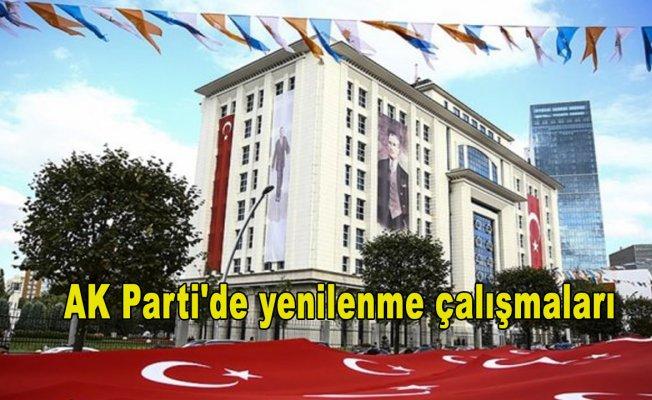 AK Parti'de yenilenme çalışmaları