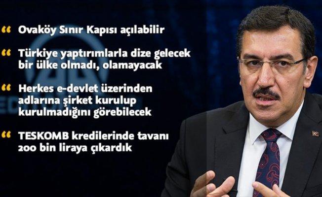 Bakan Tüfenkci: Ovaköy Sınır Kapısı açılabilir