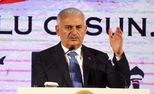 Başbakan Yıldırım: 19 Mayıs Stadı'nı 50 bin kişilik olarak yeniden inşa edeceğiz