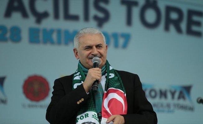 Başbakan Yıldırım: Konya her zaman bizim davamıza omuz verdi