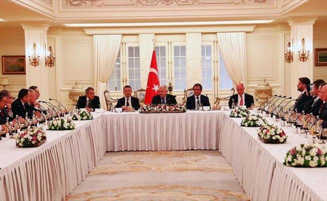 Başbakan Yıldırım yeni atanan büyükelçileri kabul etti
