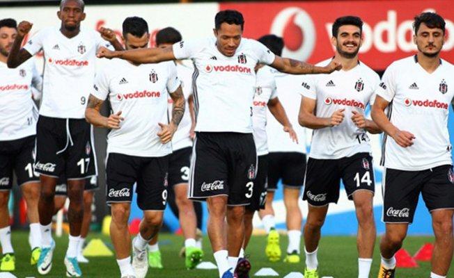 Beşiktaş Gençlerbirliği maçı hazırlıklarını sürdürdü