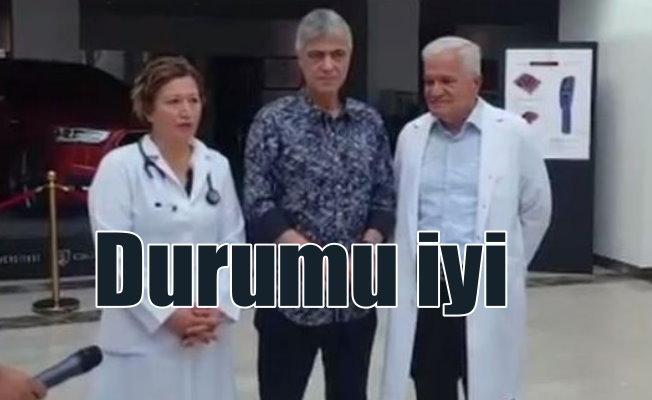 Cengiz Kurtoğlu, Kıbrıs'ta hastaneye kaldırıldı