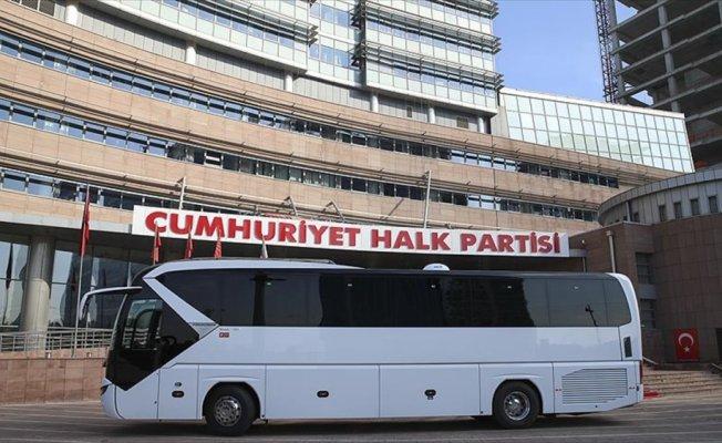 CHP'ye iki yeni otobüs