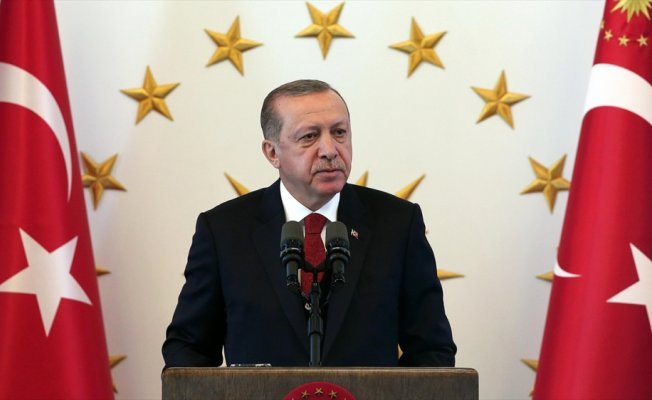 Cumhurbaşkanı Erdoğan Azerbaycan'ın bağımsızlık gününü kutladı