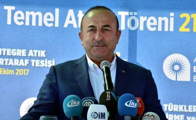 Dışişleri Bakanı Çavuşoğlu: ABD ile yaşanan vize sorununda olumlu bir hava esiyor