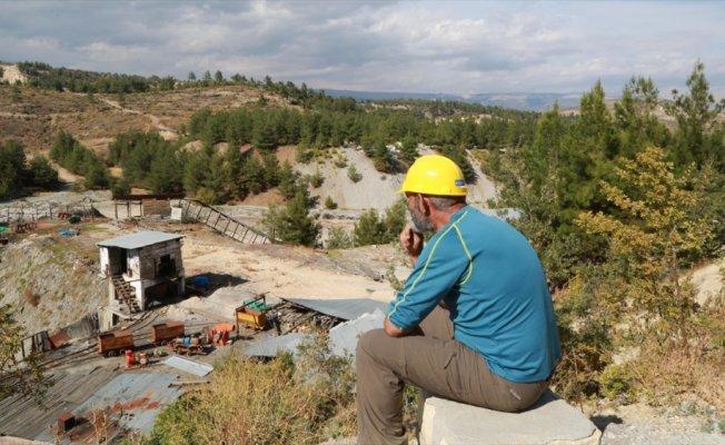 Ermenek'teki maden ocağı acı günün izlerini taşıyor