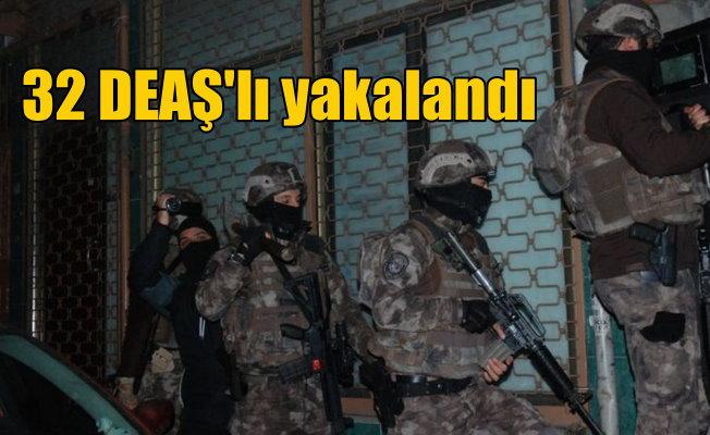 Fatih'te DEAŞ operasyonu; 32 gözaltı var