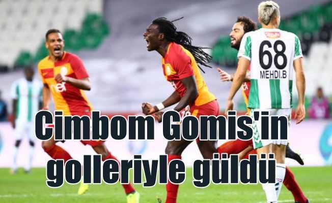 Galatasaray Konya'dan 2 gol ve 3 puanla dönüyor