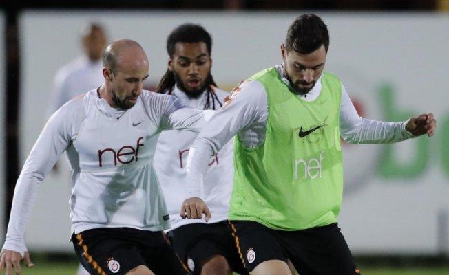 Galatasaray'da Atiker Konyaspor maçı hazırlıklarını sürdürdü