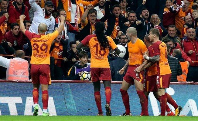 Galatasaray'ın ligde bileği bükülmüyor