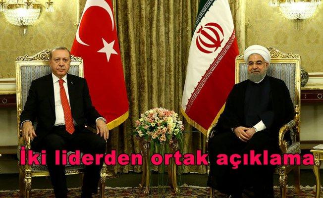 İki liderden ortak açıklama