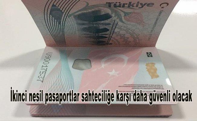 İkinci nesil pasaportlar sahteciliğe karşı daha güvenli olacak