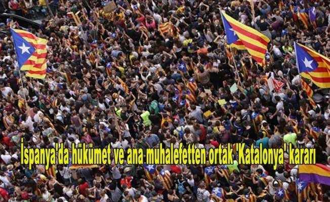 İspanya'da hükümet ve ana muhalefetten ortak 'Katalonya' kararı