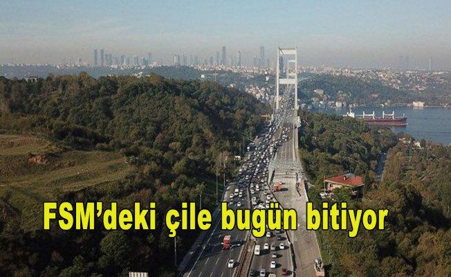 İstanbullular müjde...FSM'deki çile bugün bitiyor