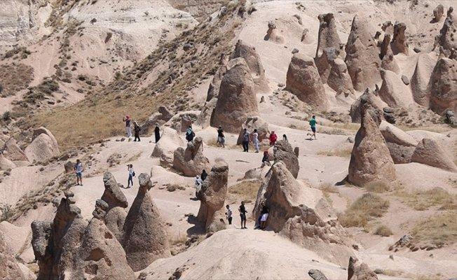 Kapadokya'yı koşarak keşfedecekler