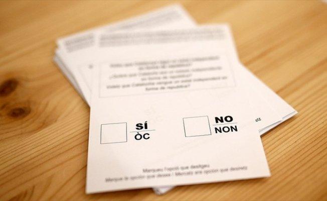 Katalonya'daki bağımsızlık referandumu sonuçları açıklandı