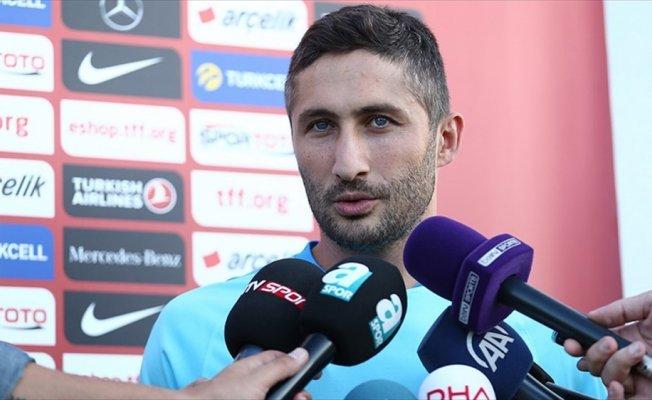 Milli Futbolcu Sarıoğlu: Hedefimiz olan Rusya'ya gitmek istiyoruz