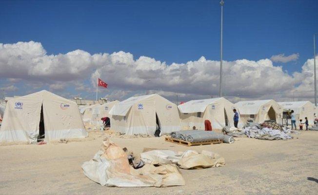 Sığınmacı kampları kışa hazırlanıyor