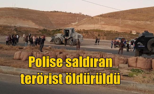 Siirt'te polise saldırı girişimi; 1 terörist öldürüldü