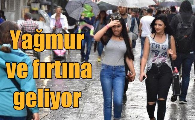 Son Dakika Hava Durumu; İstanbul ve Rize'de yağmur var