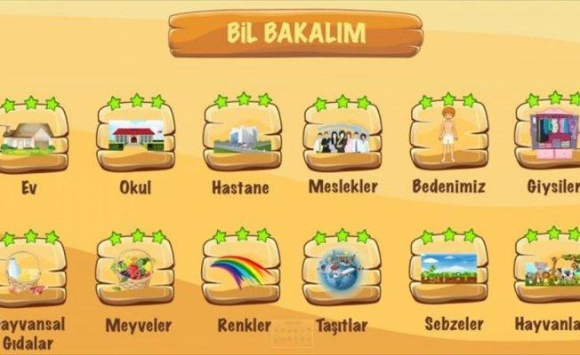 Suriyeli çocuklar Türkçeyi oyunla öğrenecek