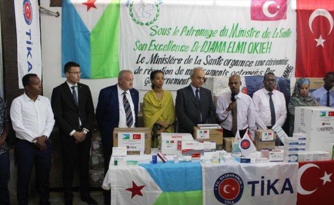 TİKA'dan Cibuti'de 400 bin kişiye ilaç desteği