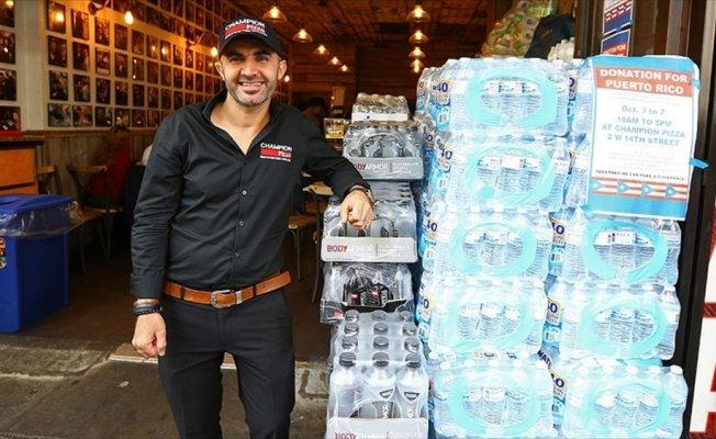 Türk pizzacıdan Jay Z'nin Porto Riko kampanyasına destek
