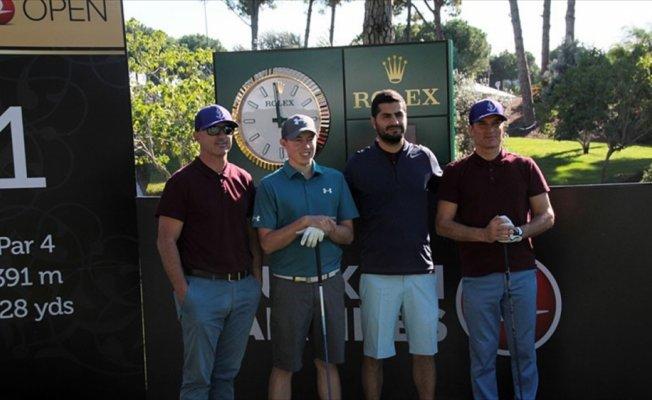 Turkish Airlines Open 2017 Pro-Am Golf Turnuvası Antalya'da başladı