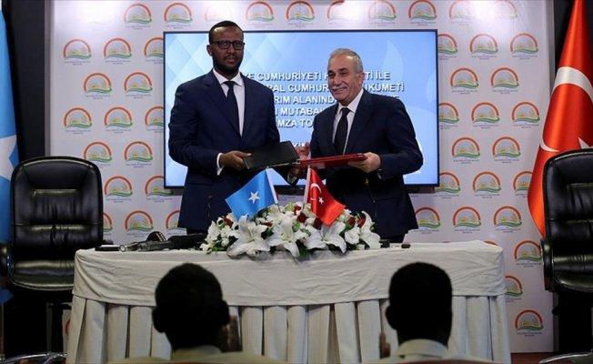 Türkiye ile Somali arasında tarımda iş birliği anlaşması