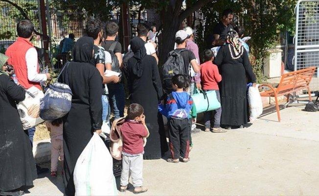 Türkiye'ye sığınan Suriyeli sayısı 3 milyon 208 bin 131 oldu