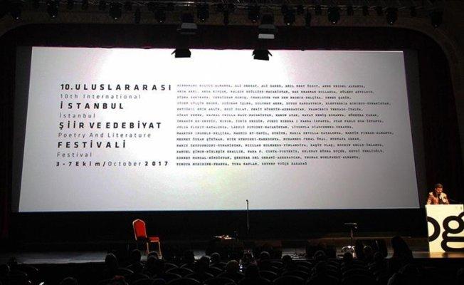 'Uluslararası İstanbul Şiir ve Edebiyat Festivali' başladı