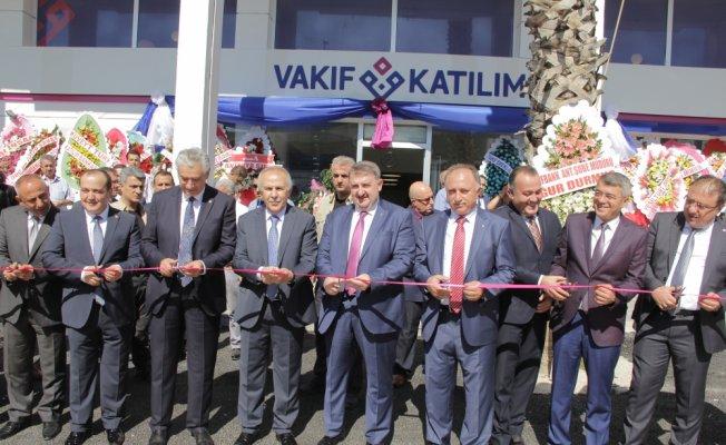 Vakıf Katılım Antakya şubesi açıldı