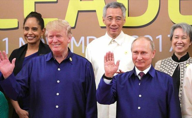 ABD Başkanı Trump: Putin'e ABD seçimlerine müdahale edip etmediğini tekrar sordum