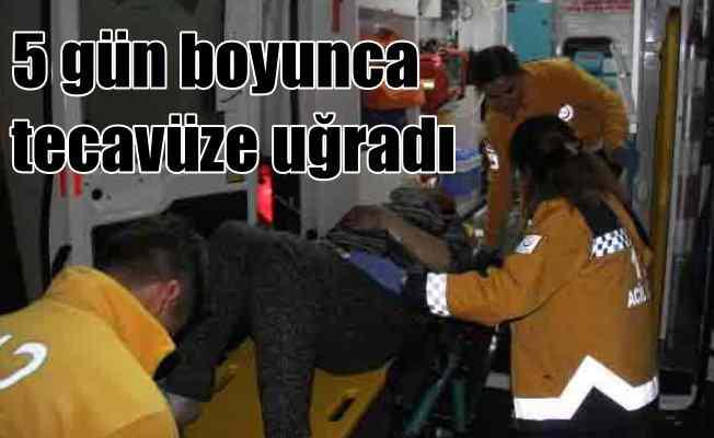 Adana'da tecavüz dehşeti; Sevgilisi kaçırdı, 5 gün boyunca..