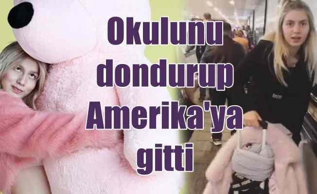 Aleyna Tilki, Amerika'ya gitti: Okulunu dondurdu mu?