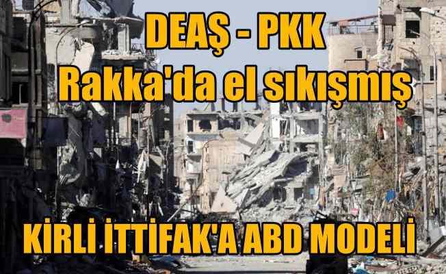 Amerika DEAŞ ve PKK'yı öpüştürmüş