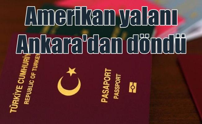 Ankara: ABD'ye güvence verilmedi