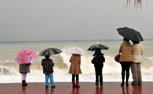 Antalya ve Muğla'da çok kuvvetli yağış bekleniyor