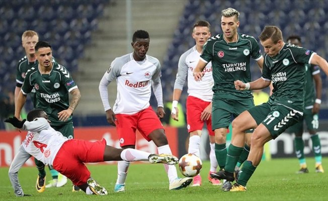 Atiker Konyaspor deplasmanda ilk puanını aldı