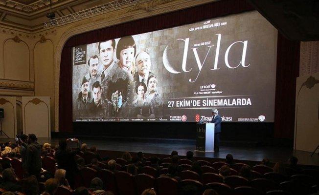 'Ayla' filmini yaklaşık 2 milyon kişi seyretti