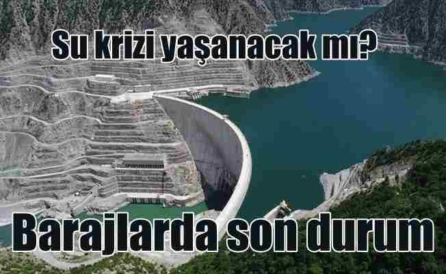 Bakan Eroğlu; İçme suyu barajlarında doluluk oranı yüzde 90'a ulaştı