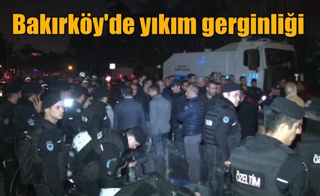 Bakırköy'de yıkım gerginliği: Sosyal tesisler 27 yıldır kaçakmış